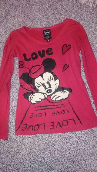 Camiseta manga larga minnie