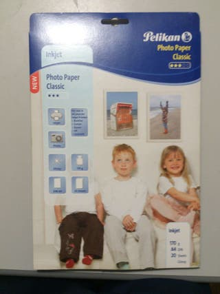15 hojas papel fotográfico dina4