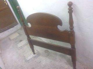 antigua cama