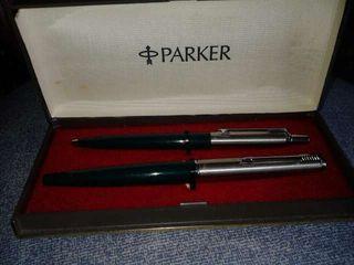Estuche de bolígrafo y pluma Parker