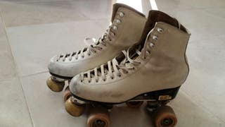 Patines de patinaje artístico sobre ruedas núm 39