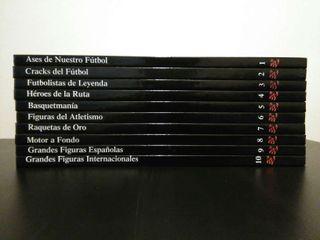 Colección libros Estrellas del deporte
