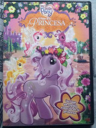 My Little Ponny El Paseo De La Princesa Dvd