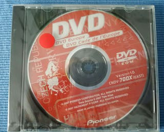 DVD mapas Europa Pioneer
