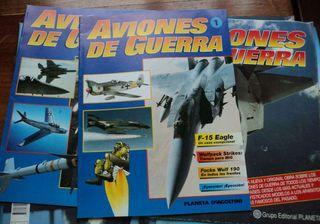 Colección Aviones de Guerra