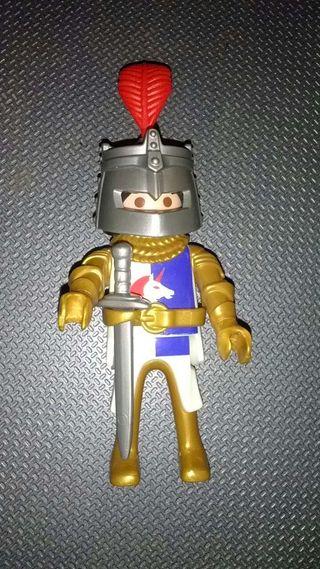Playmobil. Caballero medieval del Unicornio.