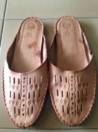 Zapatillas Cuero Polonia