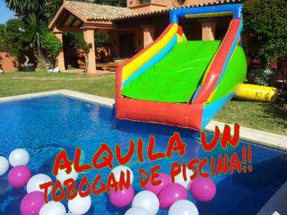 Alquiler de tobogan de piscina de segunda mano por 90 for Tobogan piscina segunda mano