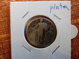 Moneda cuarto dolar, quarter dollar, 1929
