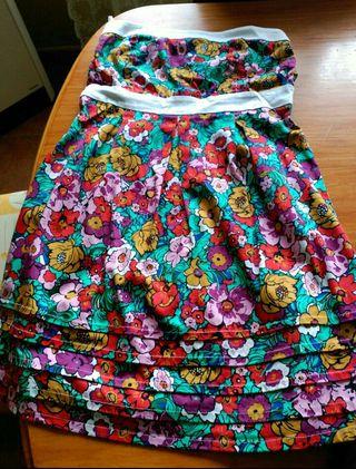 Vestido de flores ..
