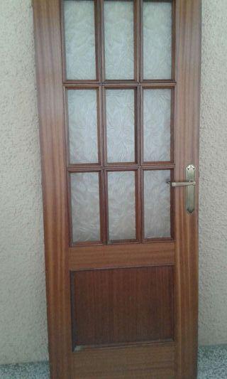 Puerta interior roble