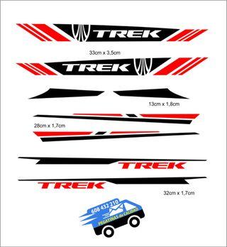 Vinilos Adhesivos Trek Bike Mtb