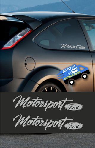 Vinilo Para Coche Ford Motorsport X2
