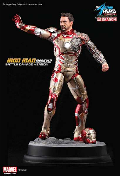 dragon iron man mark 42 battle damage