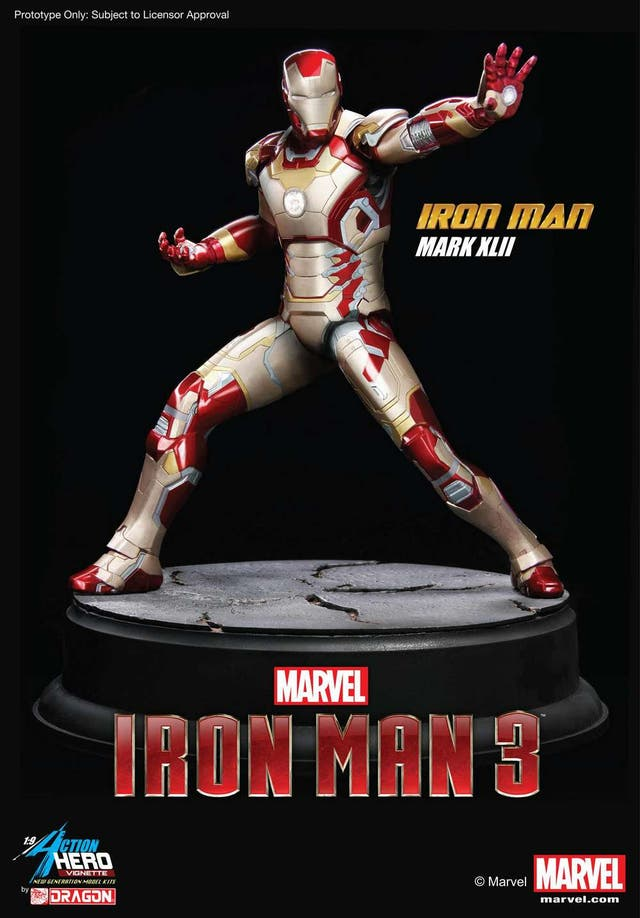 dragon iron man mark 42