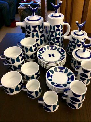 NEW!! Porcelain Tea & Coffee Set