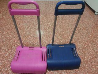 Carros para mochilas(vendido el rosa)