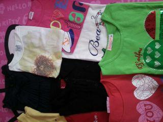 Camisetas manga corta(15×todas)