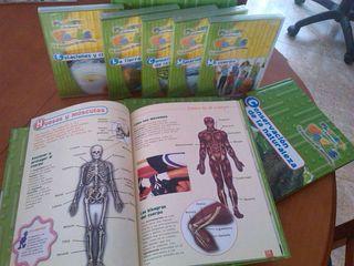 Enciclopedia Planeta Hoobs. 5 libros +dvds