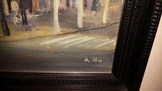 Pintura de Agustin del Rio