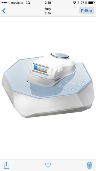 Depiladora Iluminage ME-Touch 200k