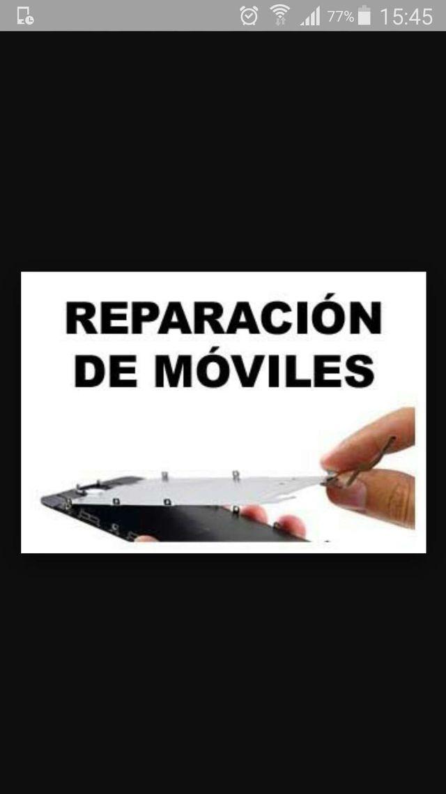 Reparacion de todo tipo de móviles y tablet.