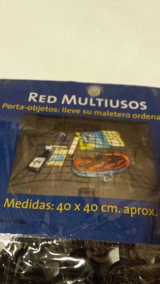 Red multiusos para maletero de coche.