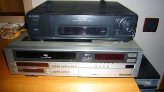 Reproductores y grabadores vhs