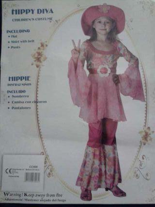 HIPPY DIVA CHILDRENS DRESS UP COSTUME 3PC SET.