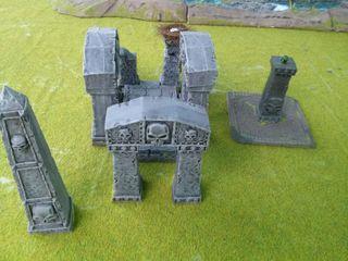 Ruinas arcanas WH 40 escenografia