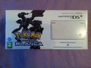 Nintendo dsi pokemon edicion blanca. Nuevo.