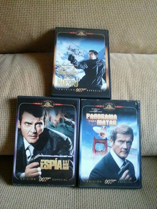 DVDS Películas de JAMES BOND ( Edicion especial )