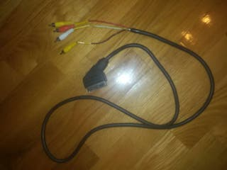 Vendo cable euroconector a rca audio o video