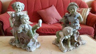 Figuras antigua de niños