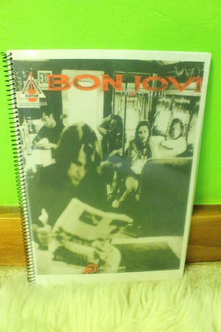 Libro partituras Bon Jovi