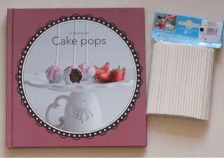Cakepops Libro+Soportes