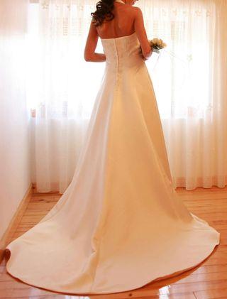 vestido de novia pronovias de segunda mano en valladolid en wallapop