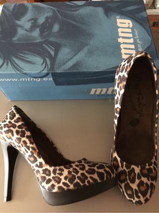 """Zapatos Tacon """"Mustang"""""""