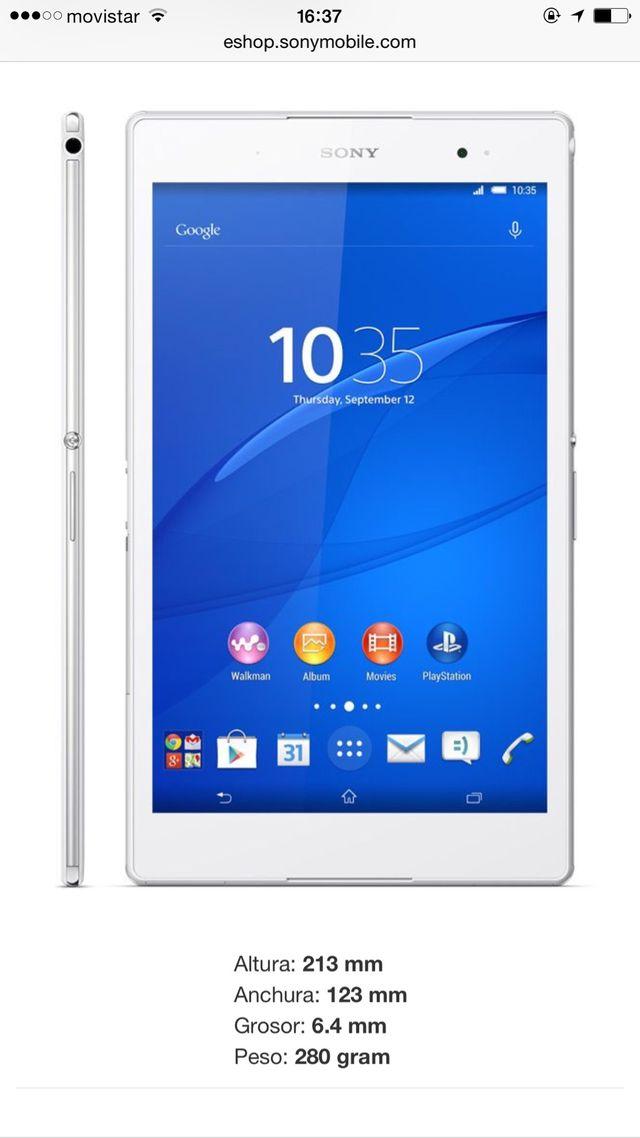 Sony Tableta Xperia z3 Nueva Sin Uso! Totalmente Nueva