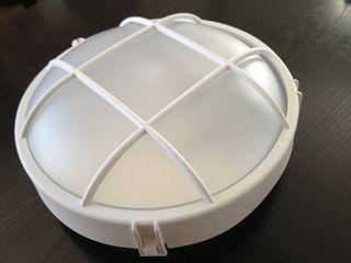 Plafon / aplique sintetico para exterior