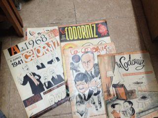 Lote De Revistas Antiguas! La Codorniz