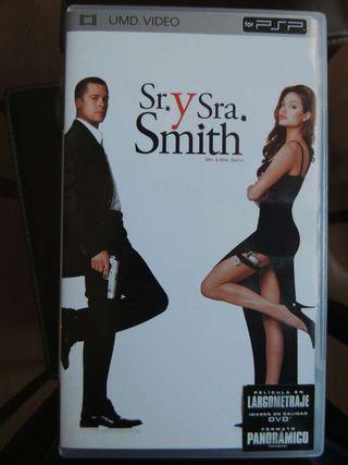 Película Sr y Sra Smith para PSP