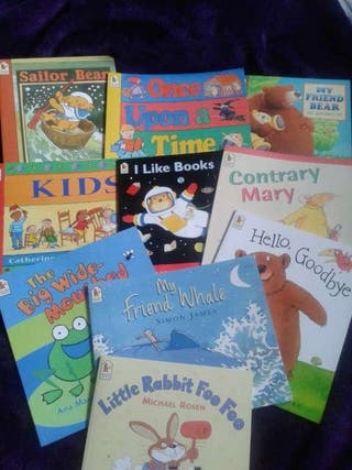 #ASAP BRAND NEW CHILDRENS READING BOOK COLLECTION 10 BOOKS.