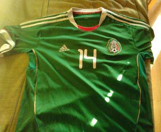 Camiseta adidas selección mexicana.