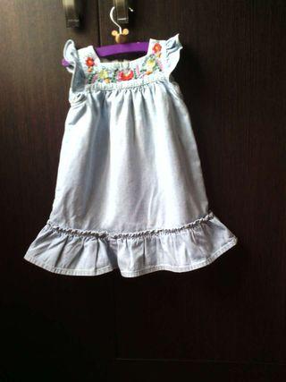 Vestido vaquero Zara baby
