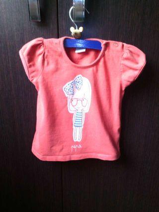 Camiseta niña 12-18m