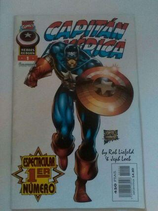 Cómic del Capitán América n°1