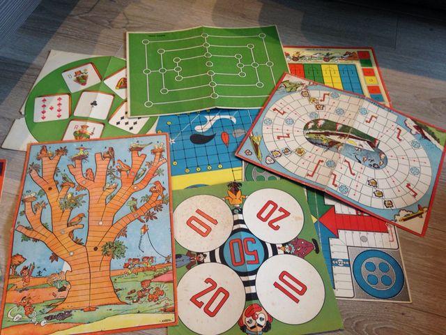 Tableros Juegos De Mesa Antiguos De Segunda Mano Por 4 En