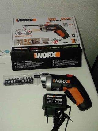 Atornilladorde bateria worx wx252