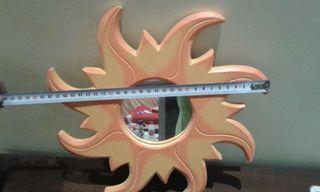 Espejo forma de sol